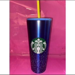 🌟 Starbucks Blue stainless steel cold cup 🌟